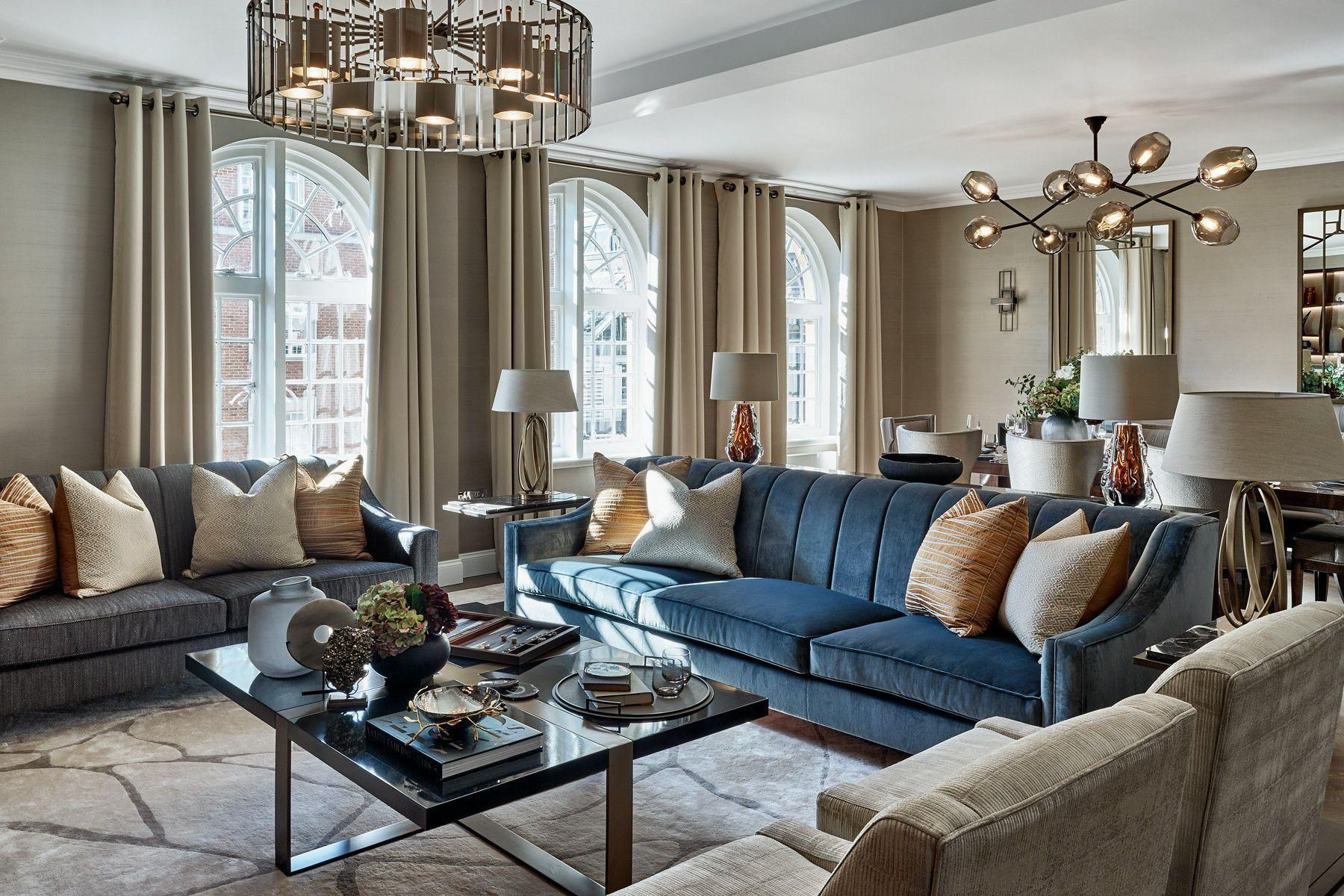 Knightsbridge Apartment Luxury Interior Design Laura Hammett