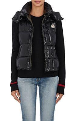 MONCLER Galene Down-Filled Tech-Taffeta Hooded Vest.  moncler  cloth  vest 1c52d535219