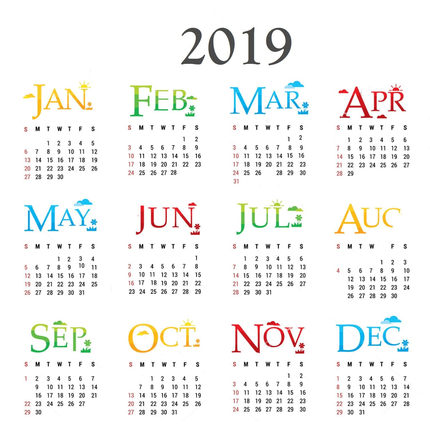 new year 2019 calendar 2019 calendar calendar design