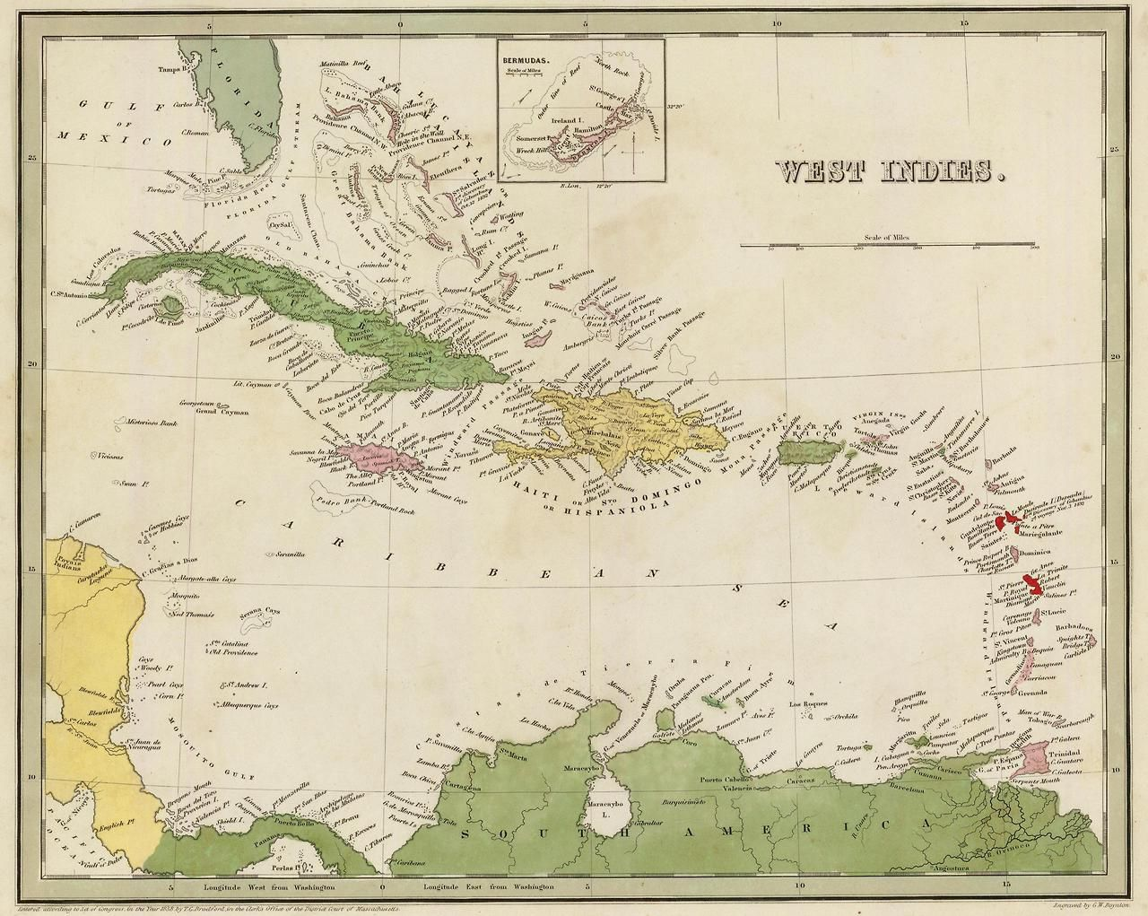 the west indies | Cartography | Pinterest | West indies, Caribbean ...