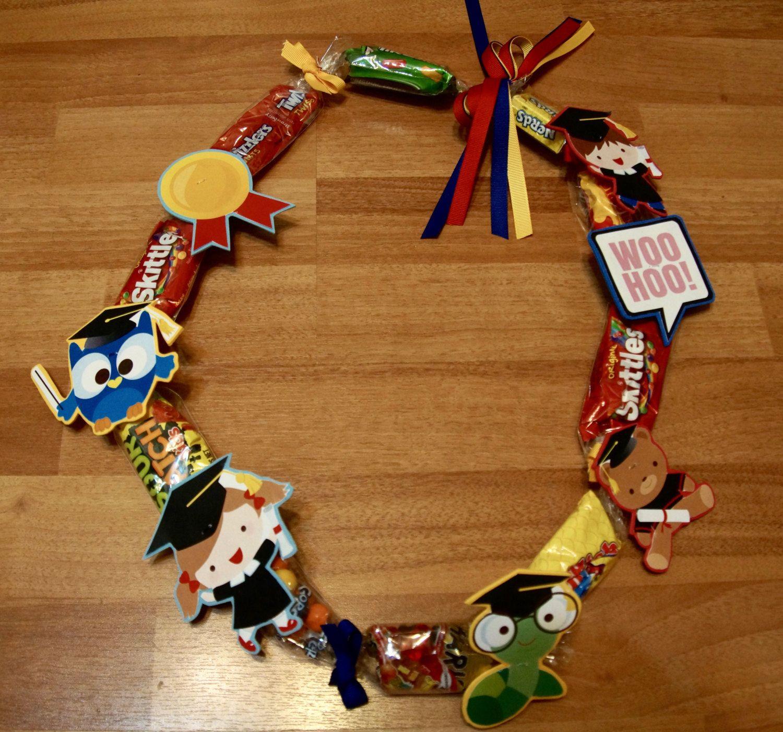 Graduation Lei Candy Lei Preschool/Kindergarten | Handmade ...