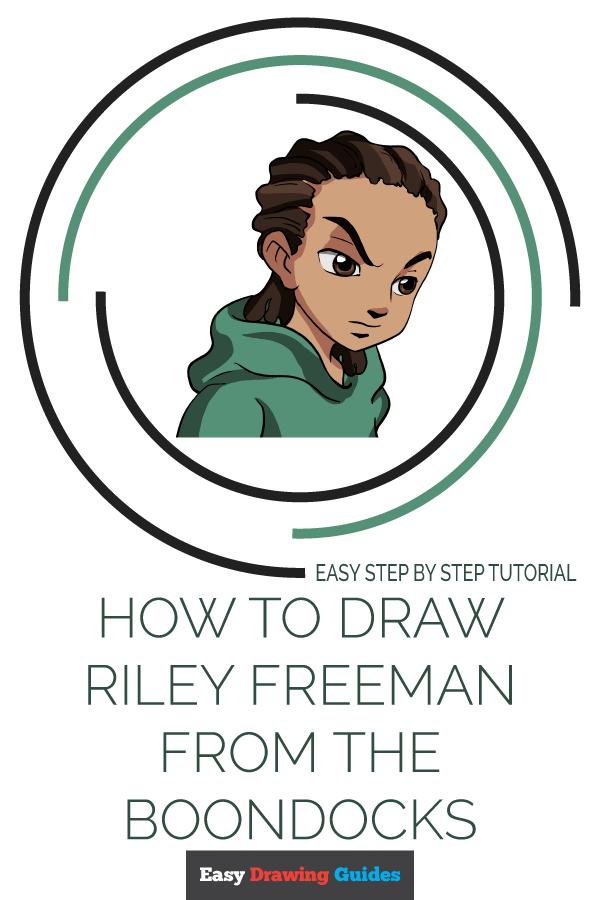 How To Draw Boondocks Style : boondocks, style, Riley, Freeman, Boondocks, Really, Drawing, Tutorial, Drawings,, Tutorial,