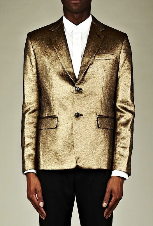 DSQUARED CALFSKIN & LEOPARD PRINT TUXEDO JACKET | LUISA ♥ MEN ...