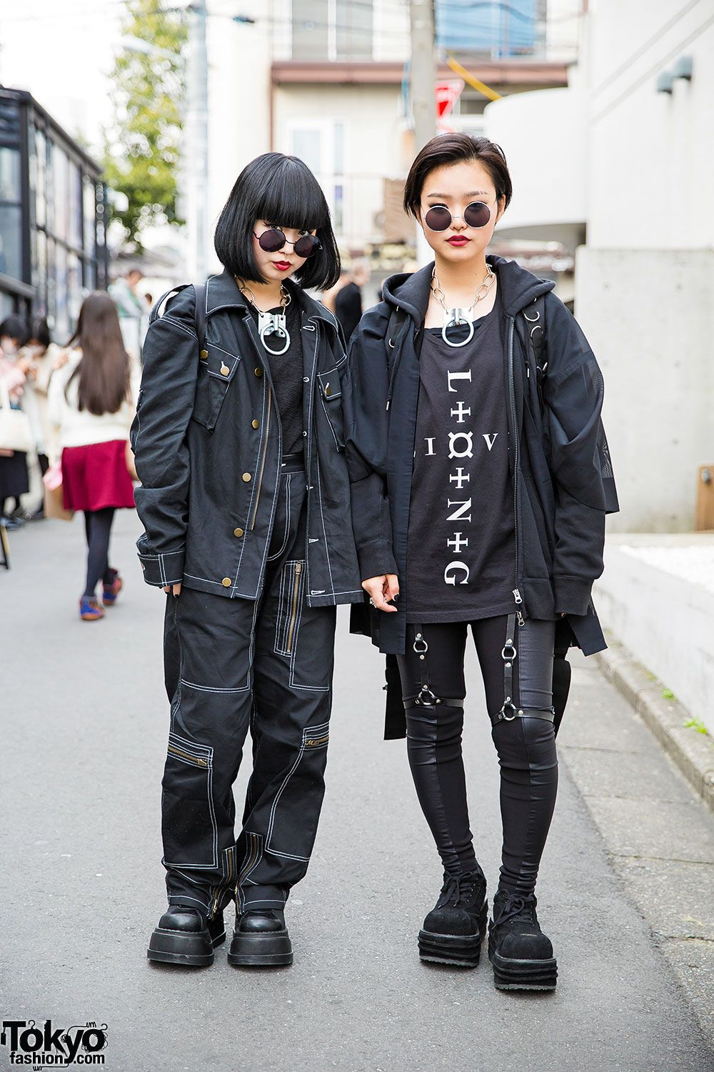 Dark Harajuku Street Fashion W/ Never Mind The XU, Michiko