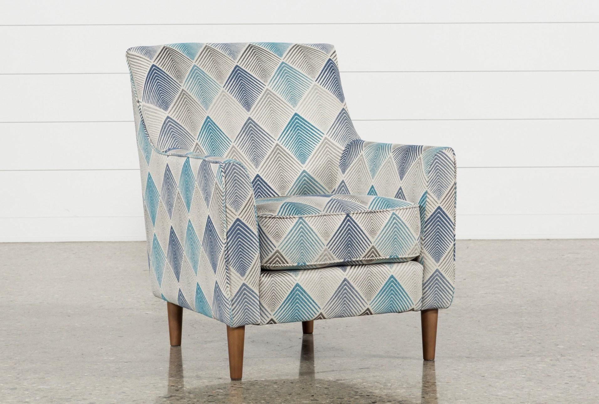 Sven Denim Accent Chair | Orange color schemes, Mid-century modern ...