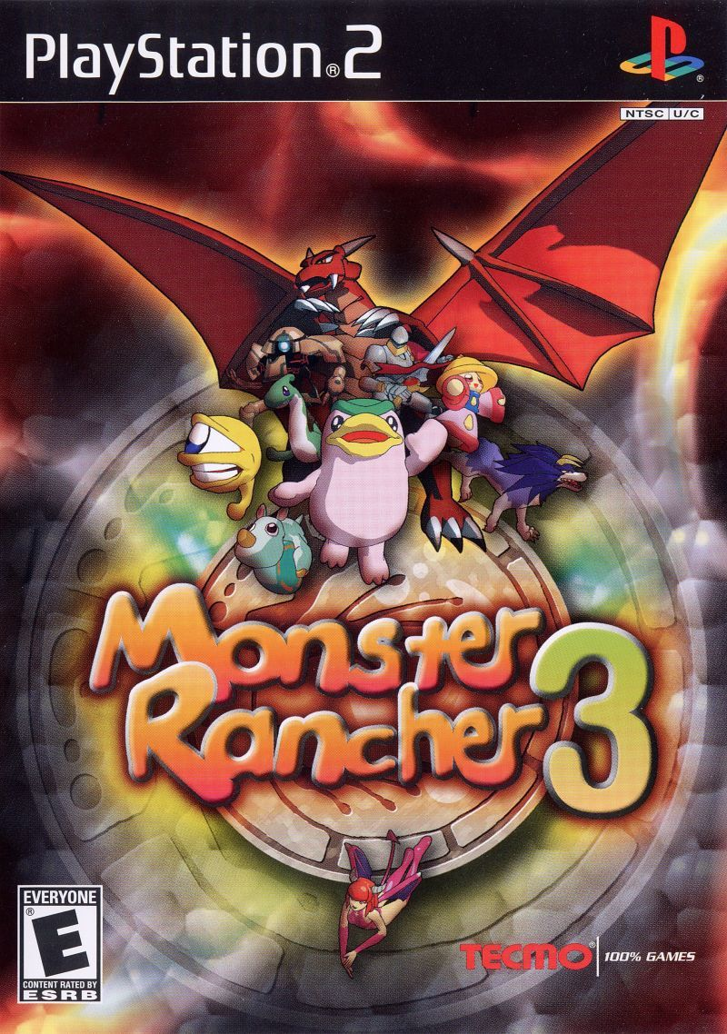 Life Simulation Video Games in 2020 Monster rancher, Ps2