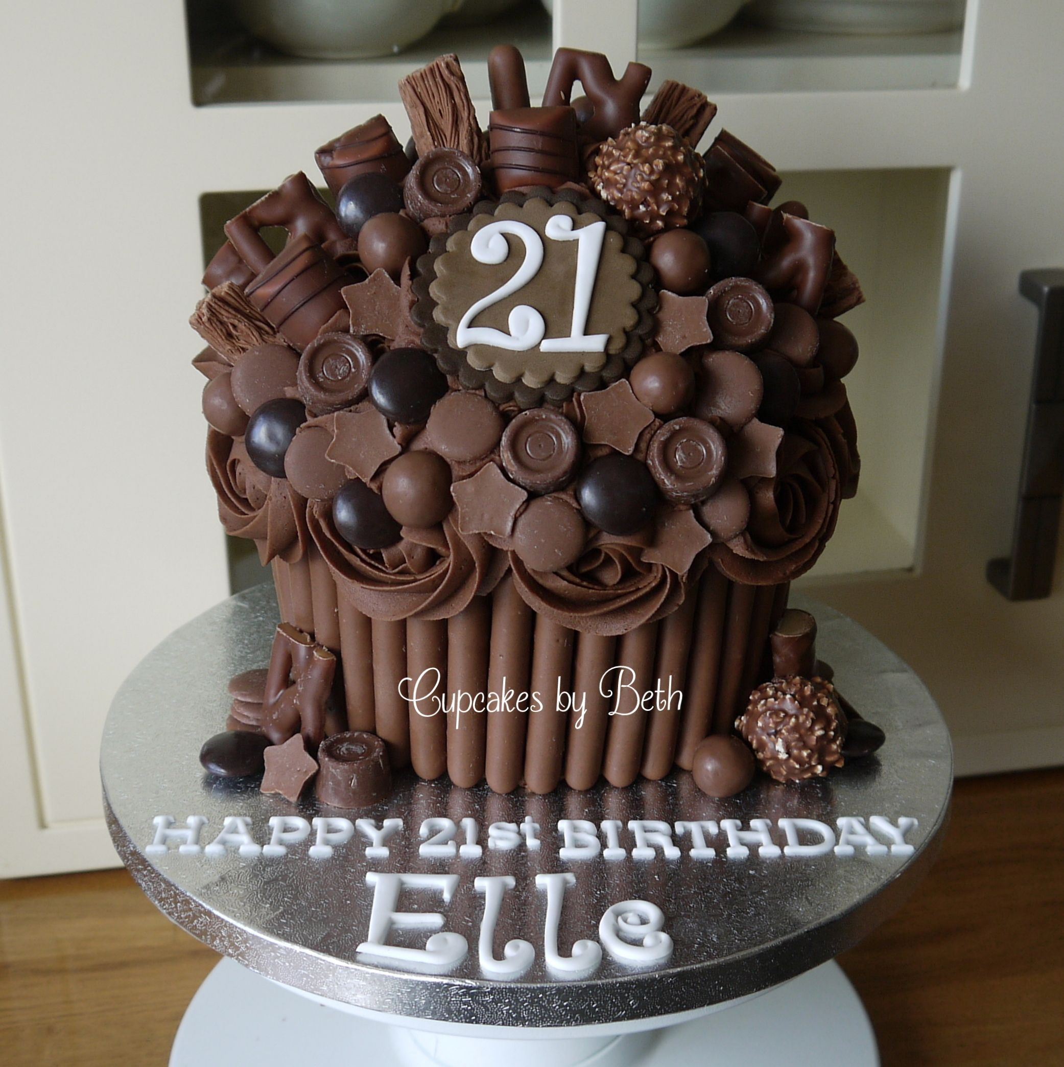 21st Chocolate Explosion Giant Cupcake Facebook