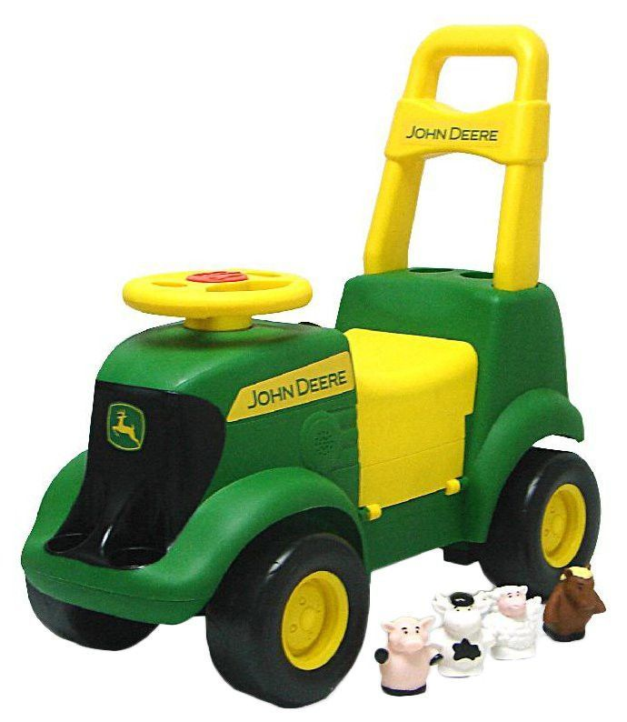 John Deere Sit N Scoot Tractor J C G Toys Ride On Toys Tractors