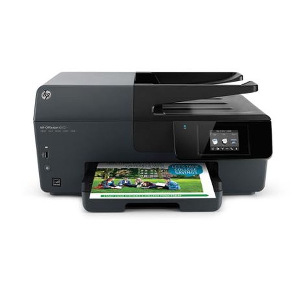 Hp Officejet 6812 E All In One Printer Copier Scanner Fax Machine