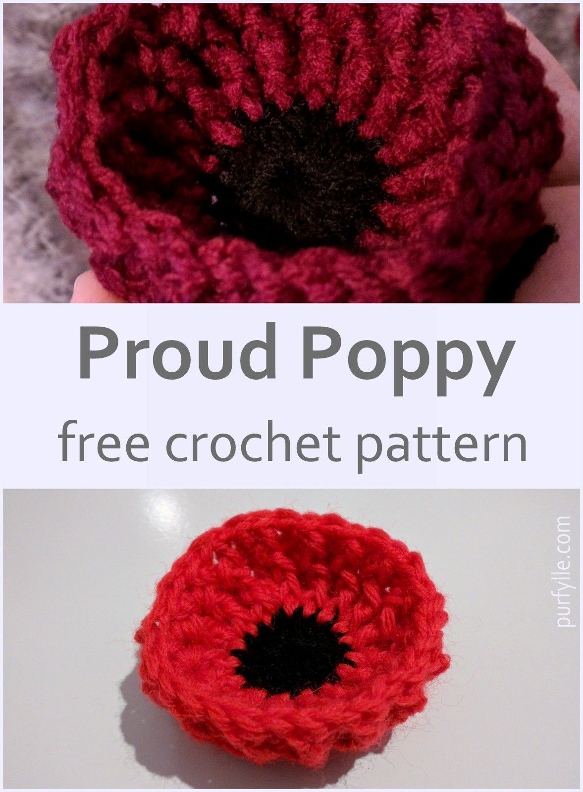 This poppy will sit up nice and proud and hold its shape even if free crochet this poppy will sit up nice and proud and hold its shape even if left out bankloansurffo Image collections