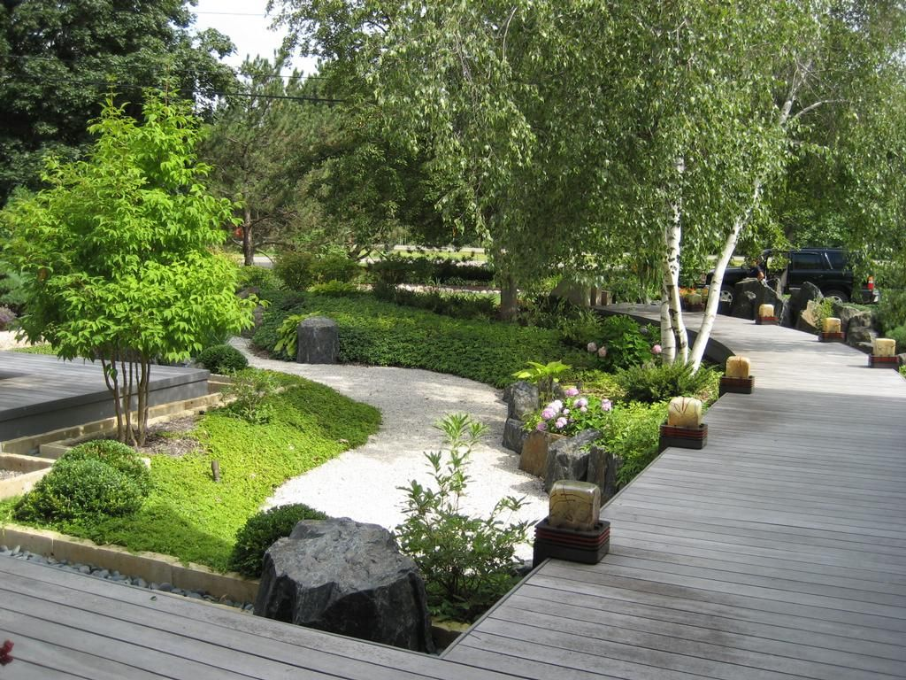 amazing backyard design inspired by japanese garden  Luxury