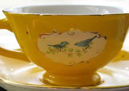 birdie teacup