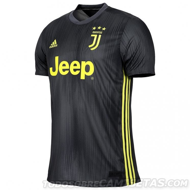 f019b3708 Juventus FC adidas Third Kit 2018-19 | Football (soccer) | Football ...