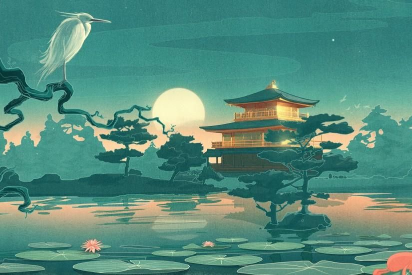Japanese Wallpaper Download Free Amazing Full Hd Wallpapers For Desktop Computers And Smartphones In Any Resolution De Art Wallpaper Japanese Art Asian Art