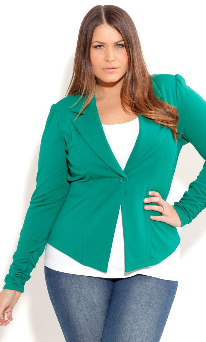 Great color and shape.  Ponte jacket