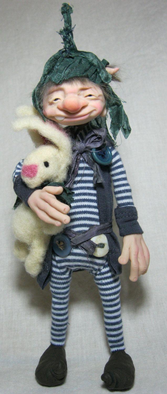 Grizby Goblin in His P.J.s.