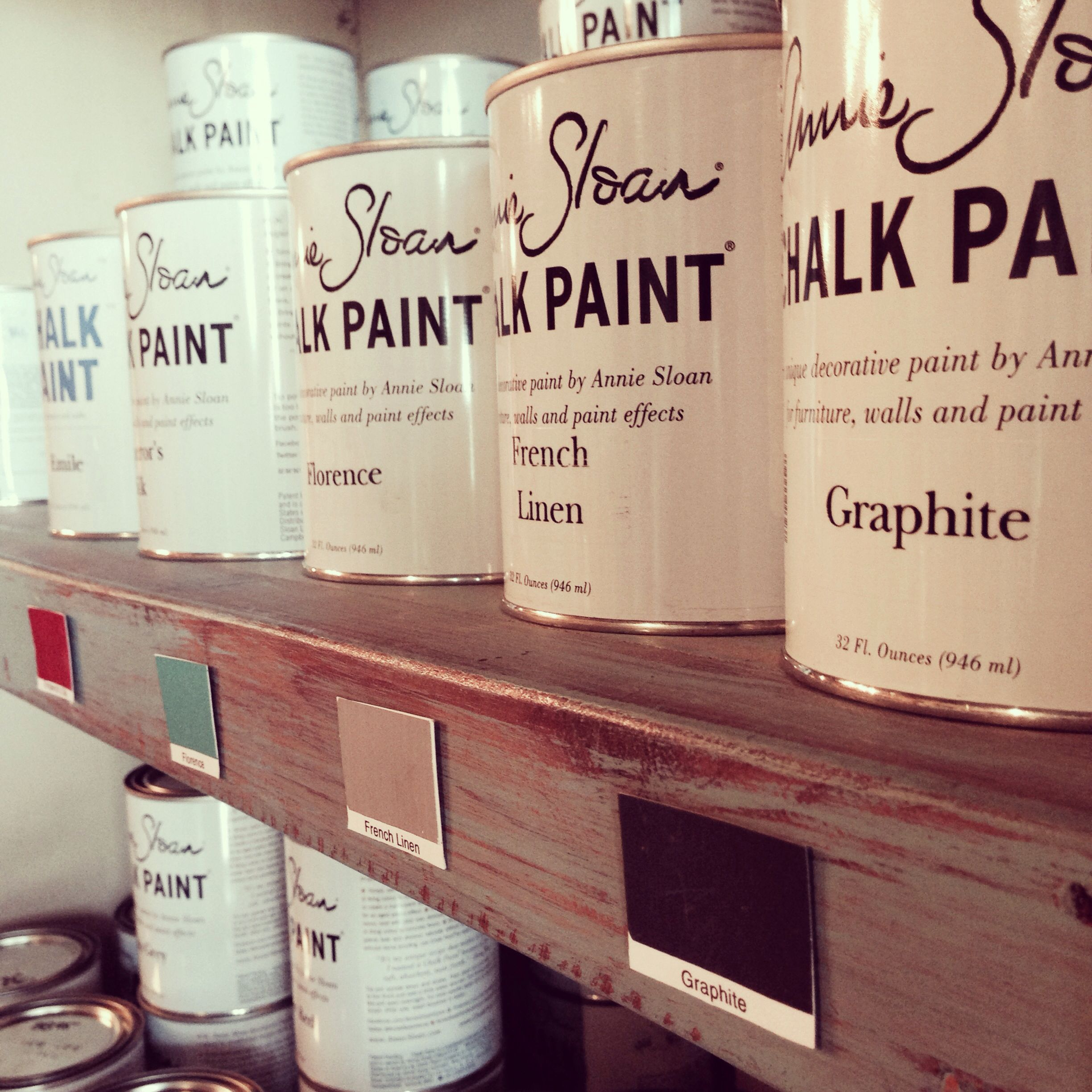 Ahhh the infamous chalk paint #nevergoingback #morethanpaint  LiveDecorated.com