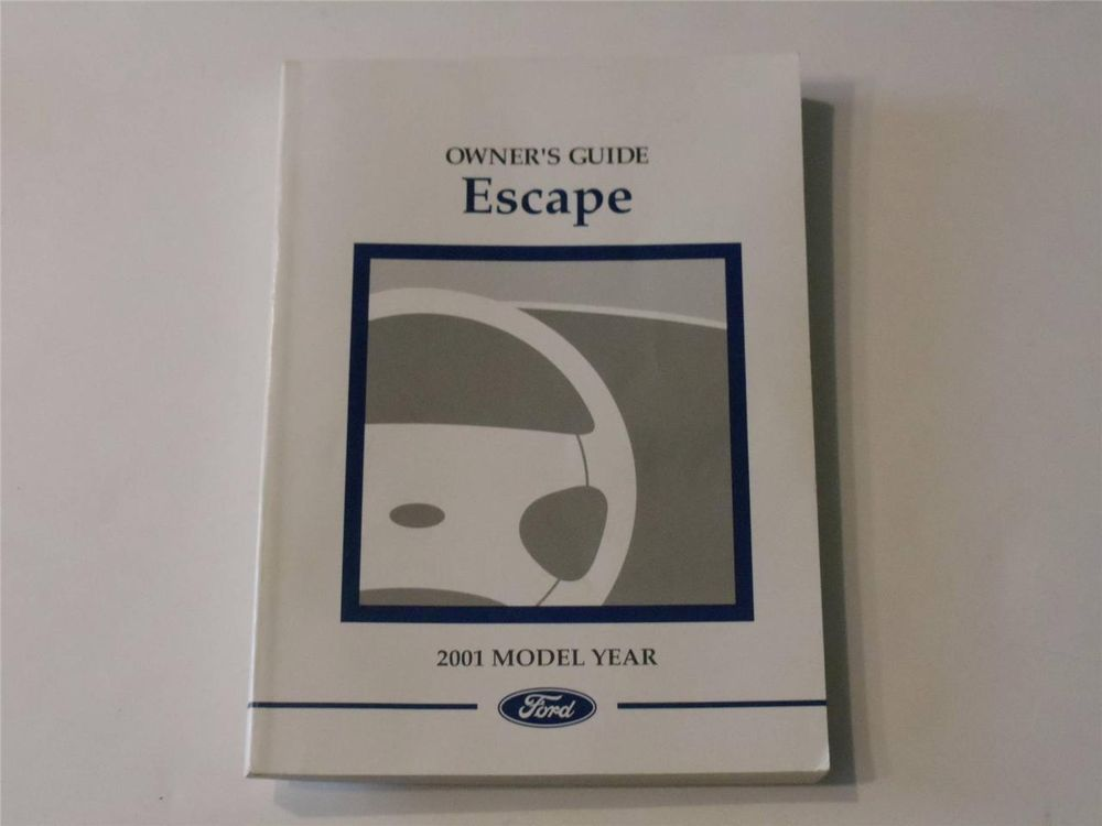 2001 ford escape owners manual book owners manuals pinterest 2003 ford f series super duty owners manual book sciox Images