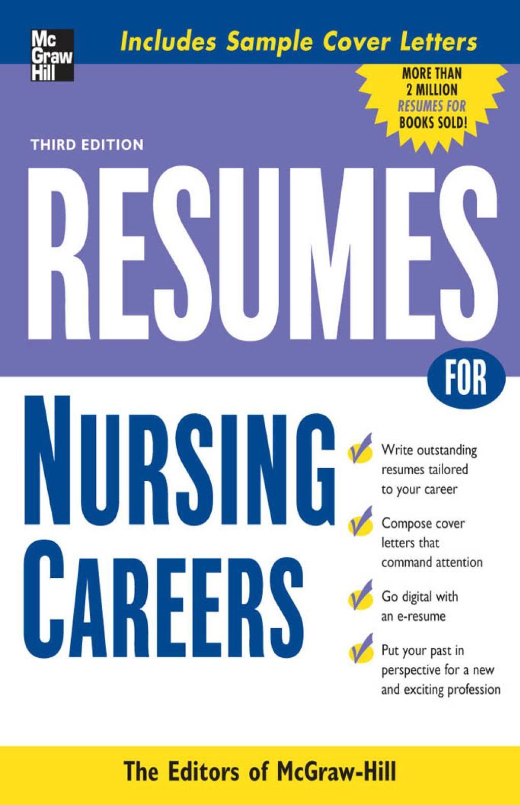 Resumes for Nursing Careers (eBook) Medical careers