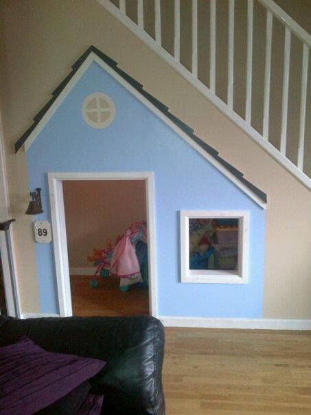 Under stairs wendy house google search that 39 s clever for Wendy house ideas inside