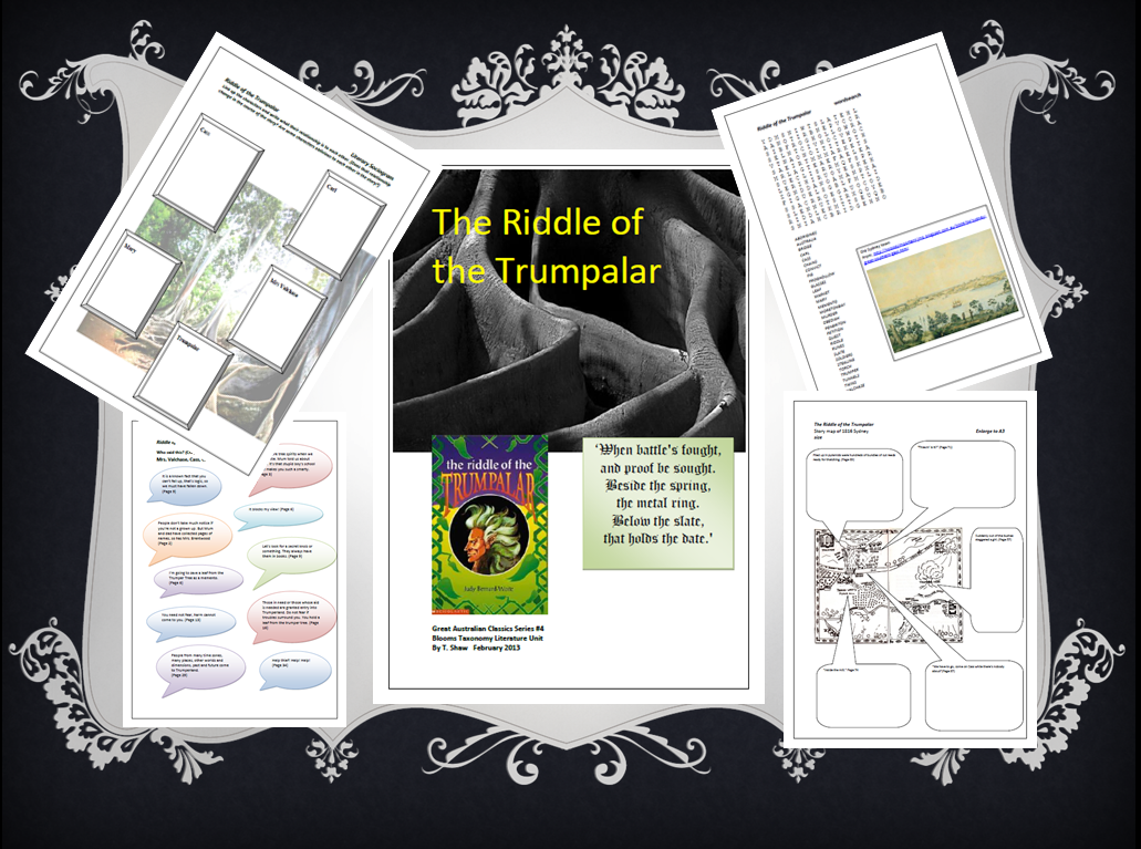 Riddle of the Trumpalar unit plan. Learning With