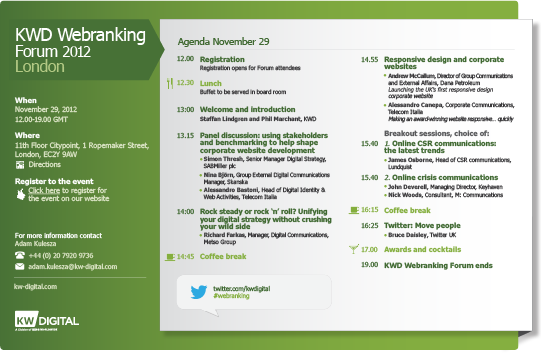 Book your seat to the KWD Webranking Forum in London November 29th http://kwd.to/kpdz