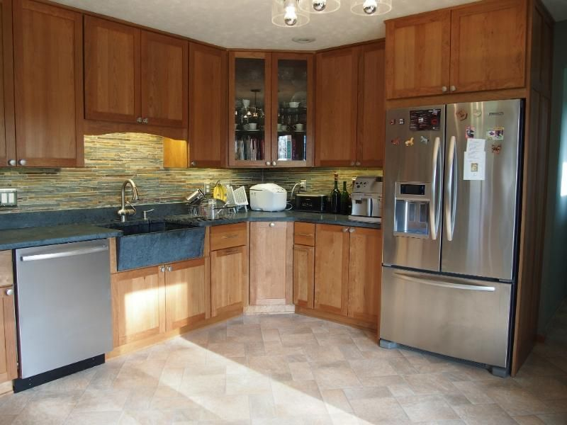 upper corner cabinet | Kitchen wall cabinets, Kitchen ...