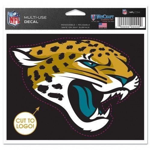 NFL Jacksonville Jaguars WinCraft 4.5x5.75 Multi-Use Decal