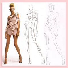 fashion croquis - Google Search