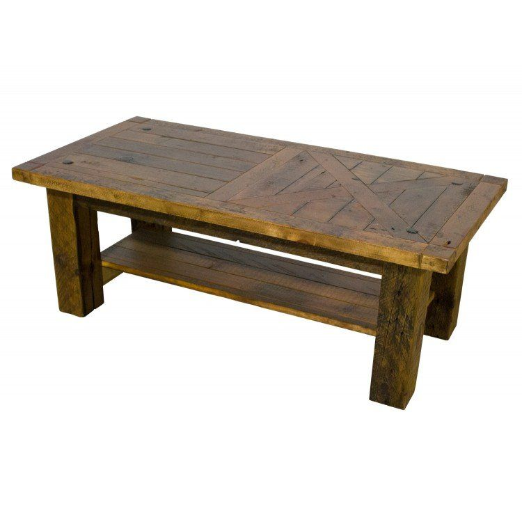 Sawmill Weathered Wood Barn Door Coffee Table In 2019 Door