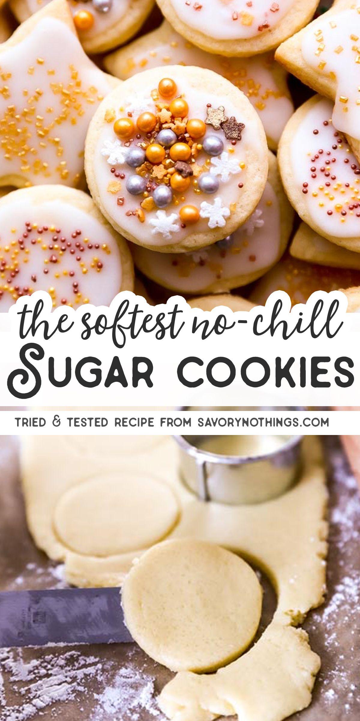 The Best Soft Sugar Cookies #sugarcookierecipe