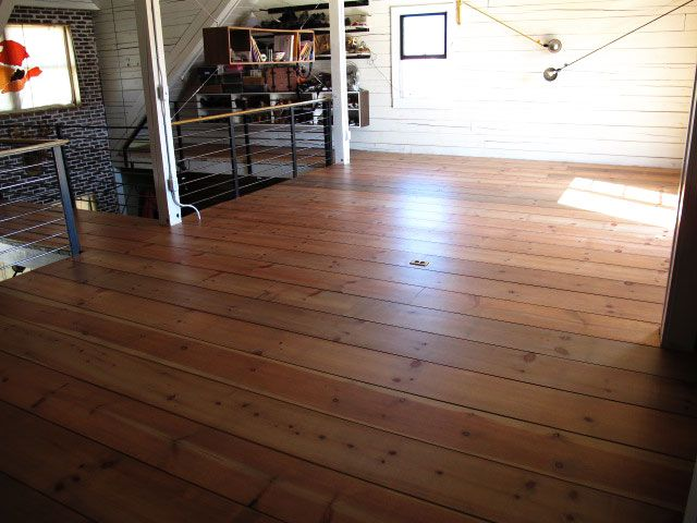 Love The Look Of These Pine Floors, And Its A Good Money Saver!