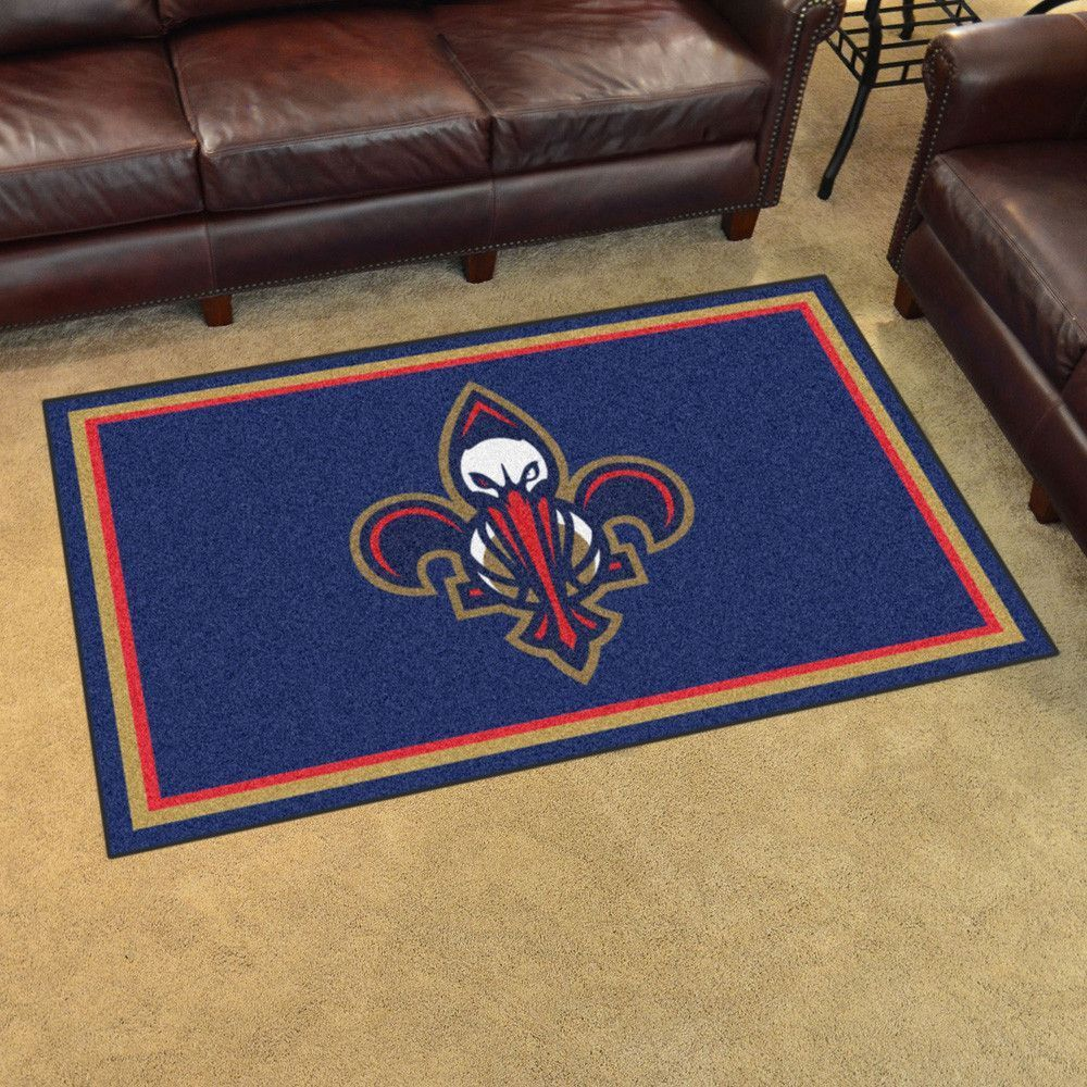 New Orleans Pelicans Ultra Plush Area Rug