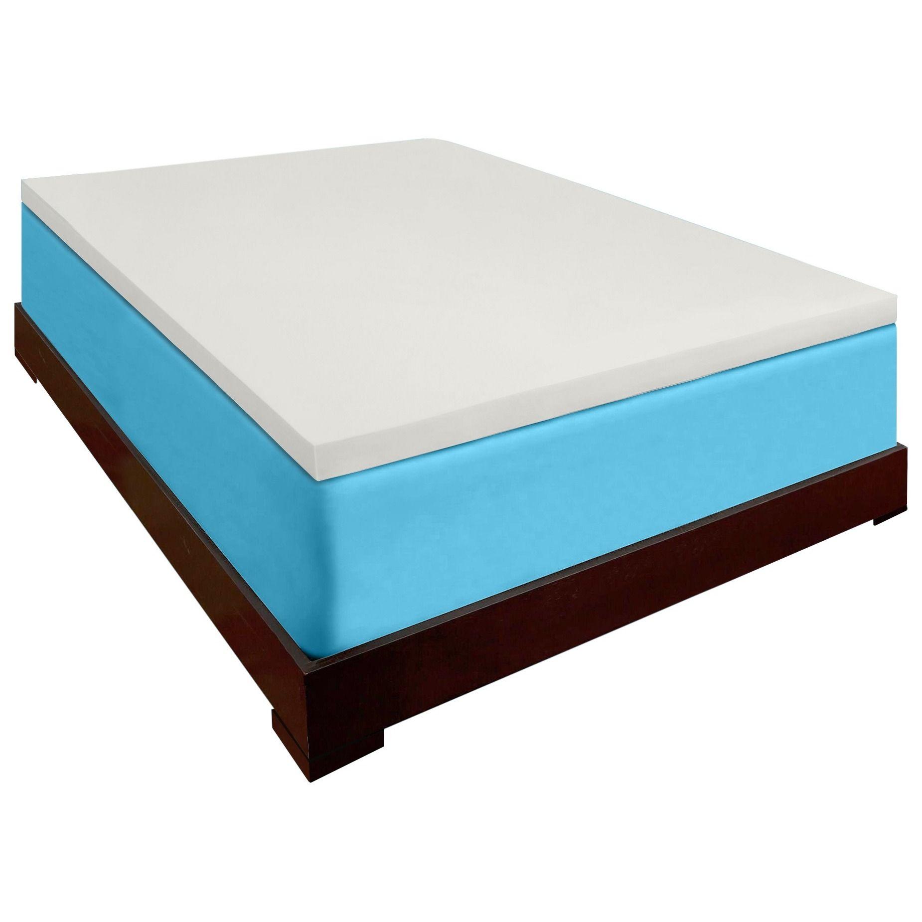 Dreamdna 3 Inch 4 Pound Density Memory Foam Mattress