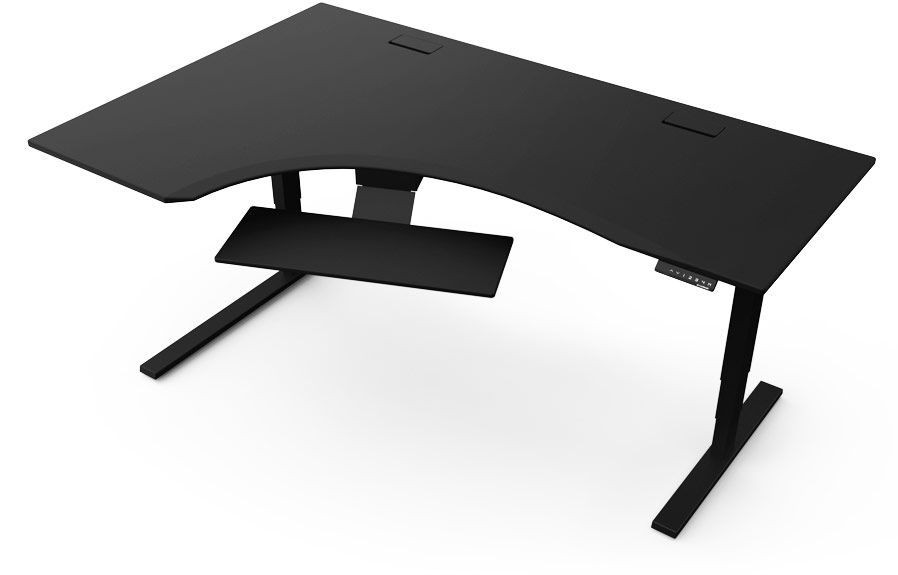 Studio L Evodesk Standing Desk is 72 in an L shape so you get