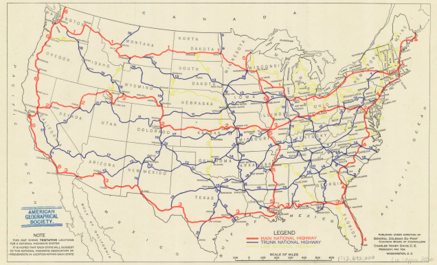 Riding The Old Roads And Reminiscing Ted Landphairs America A Map - Us highway 11 map