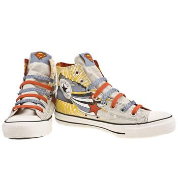 6f77233eb639 Men s Light Grey Converse Allstar Dc Superman Hi £ at www.schuh.co ...