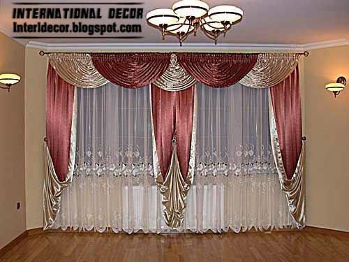 Latest 5 Contemporary Curtain Designs With Drapes And Windows Treatments  With Modern Curtains Fabric Like Silk And Satin Curtains With Modern  Curtains ...