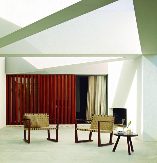 andreu world collection 2012    houten lamellen