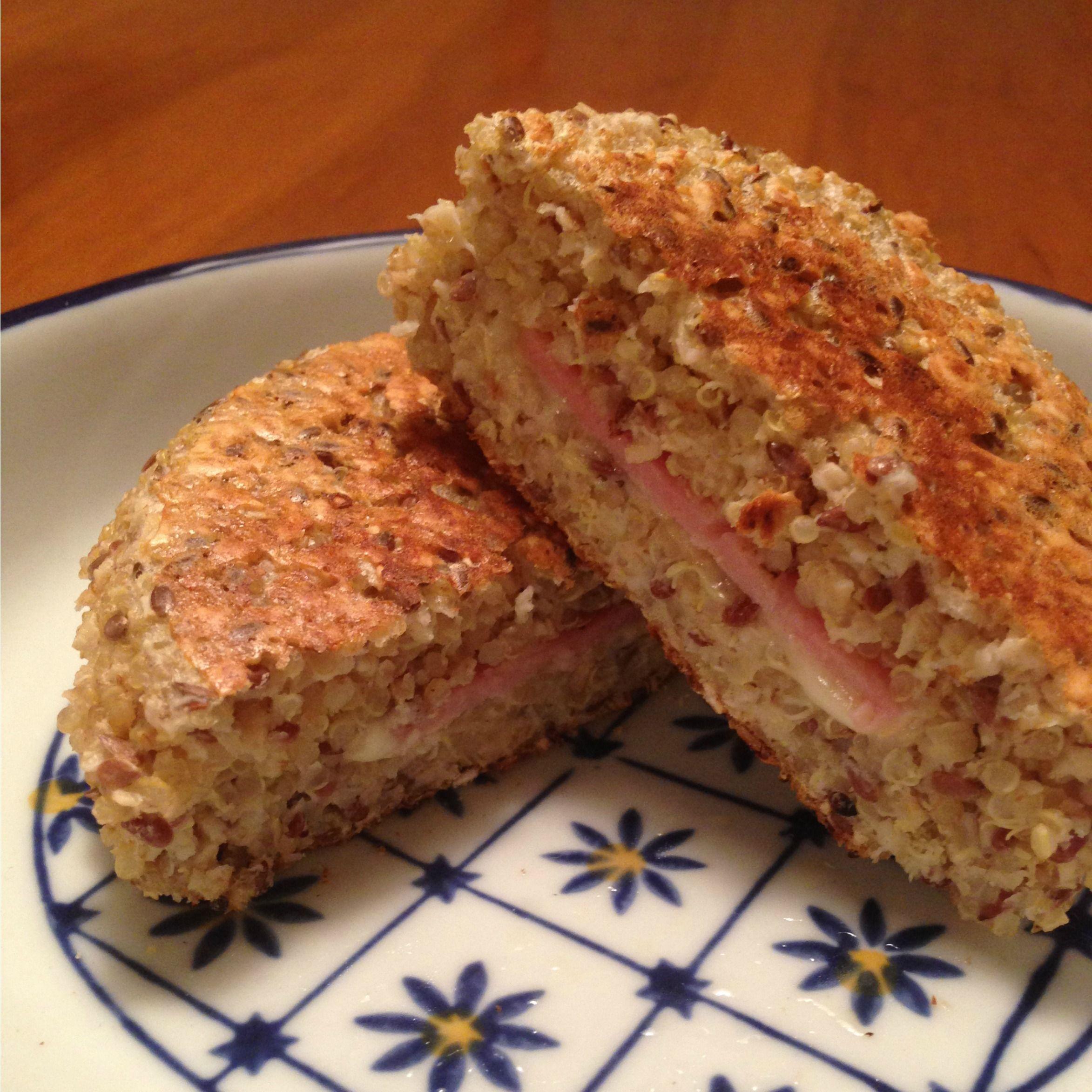 Quinoa Cakes de cinco ingredientes - gastroglam