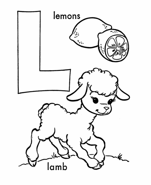 Letter L Activities and Coloring Pages | Worksheets | Pinterest ...