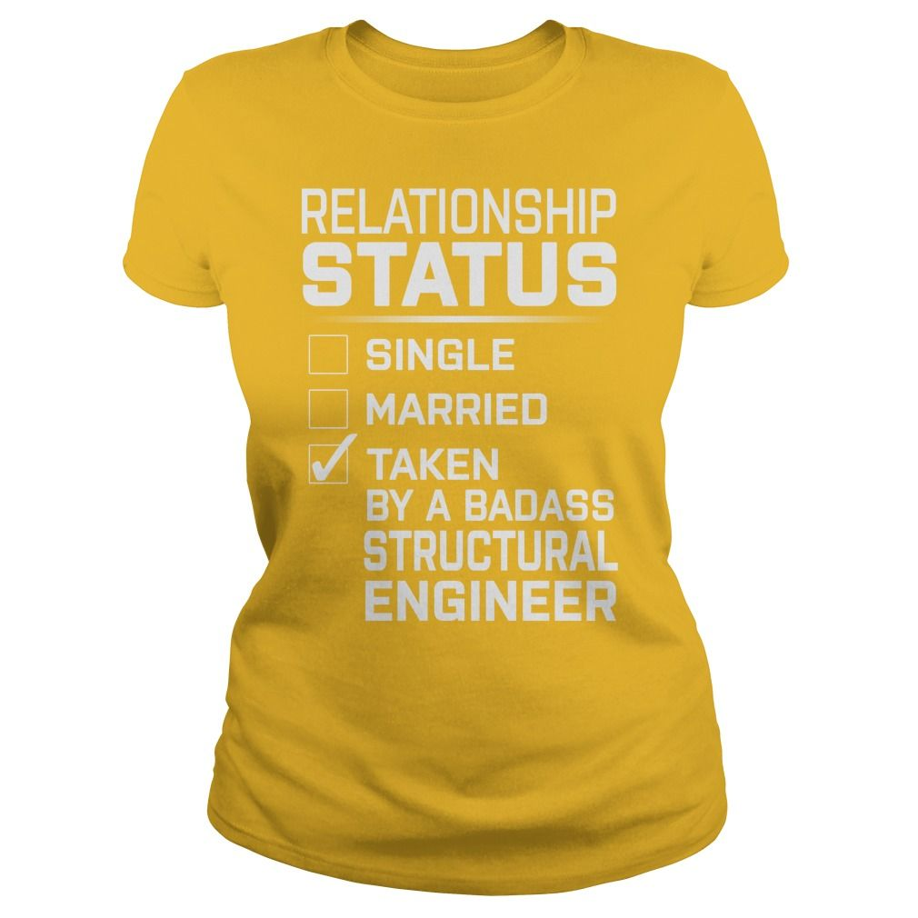 Taken By A Badass Structural Engineer Job Title Shirts Gift