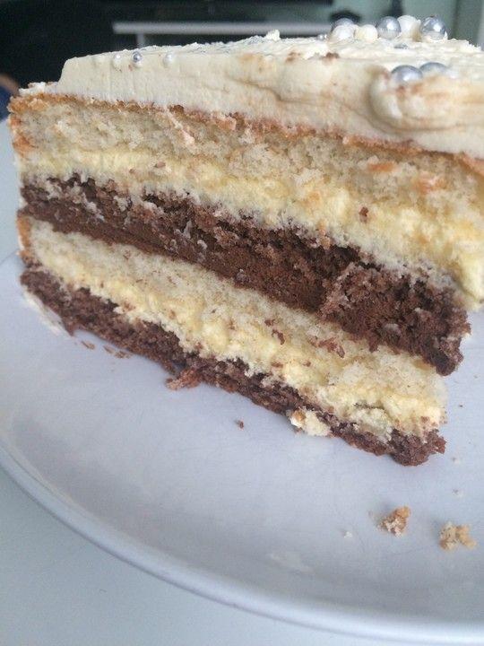 Happy Schoko Vanille Torte Kuchen Torten Cupcake Cakes