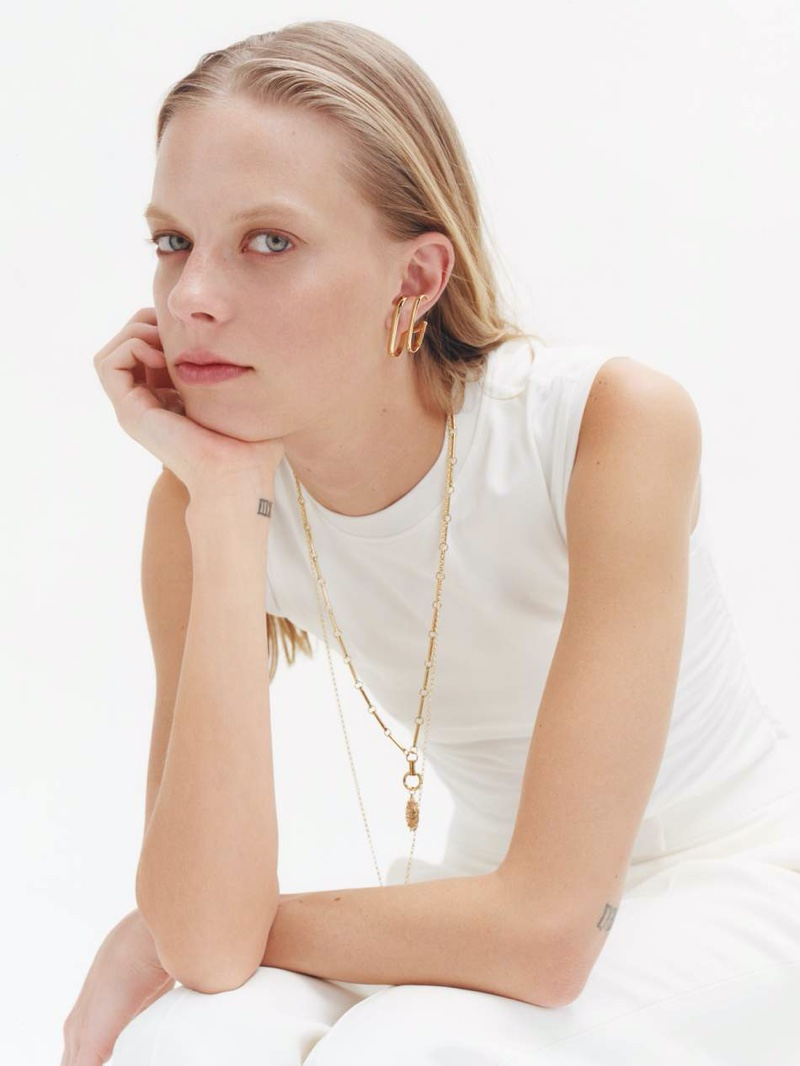 Photo of Lexi Boling Wears Elegant Jewelry for PORTER Edit