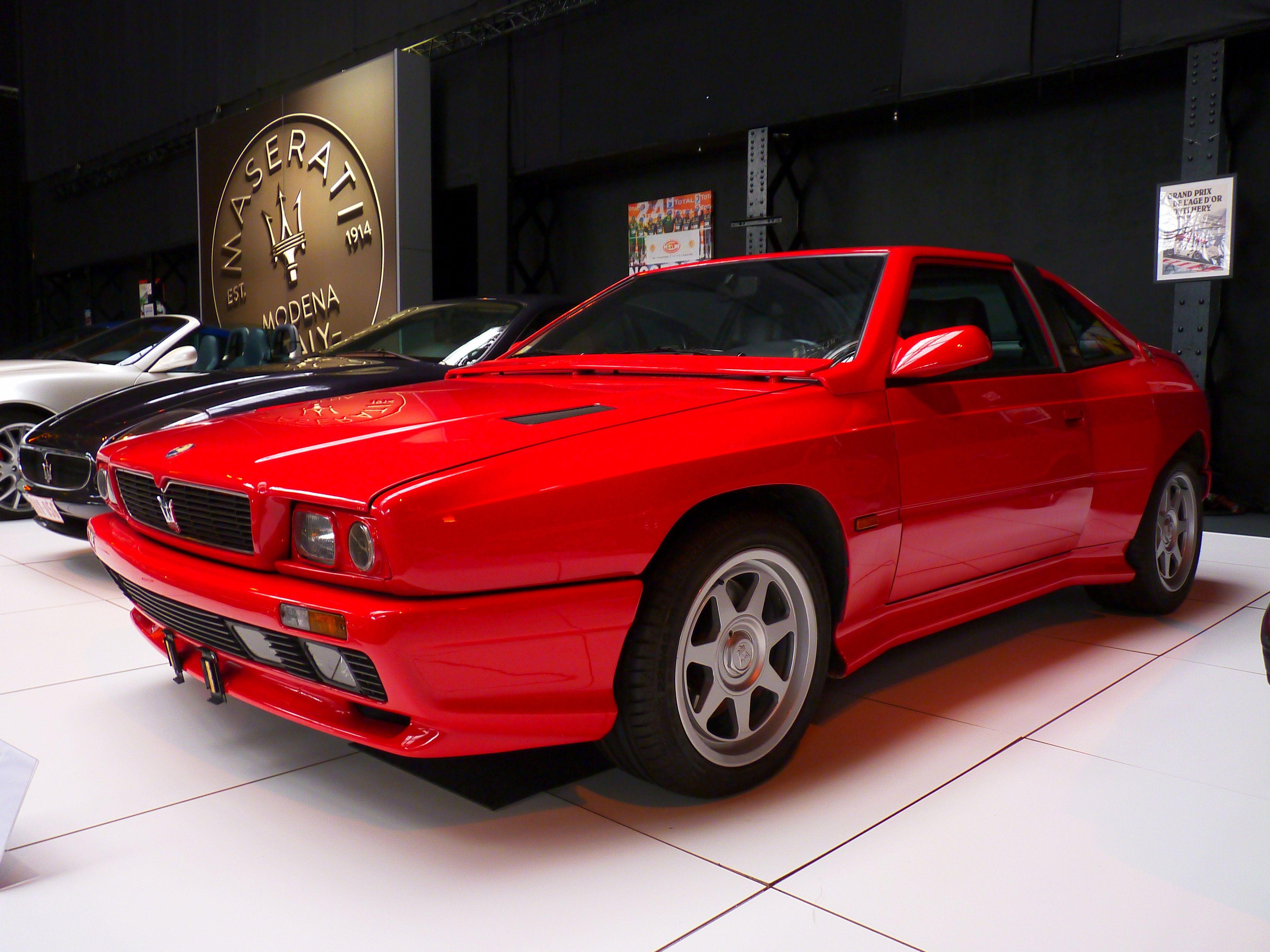 Maserati Shamal 1991   マセラティ, 高級車, 車