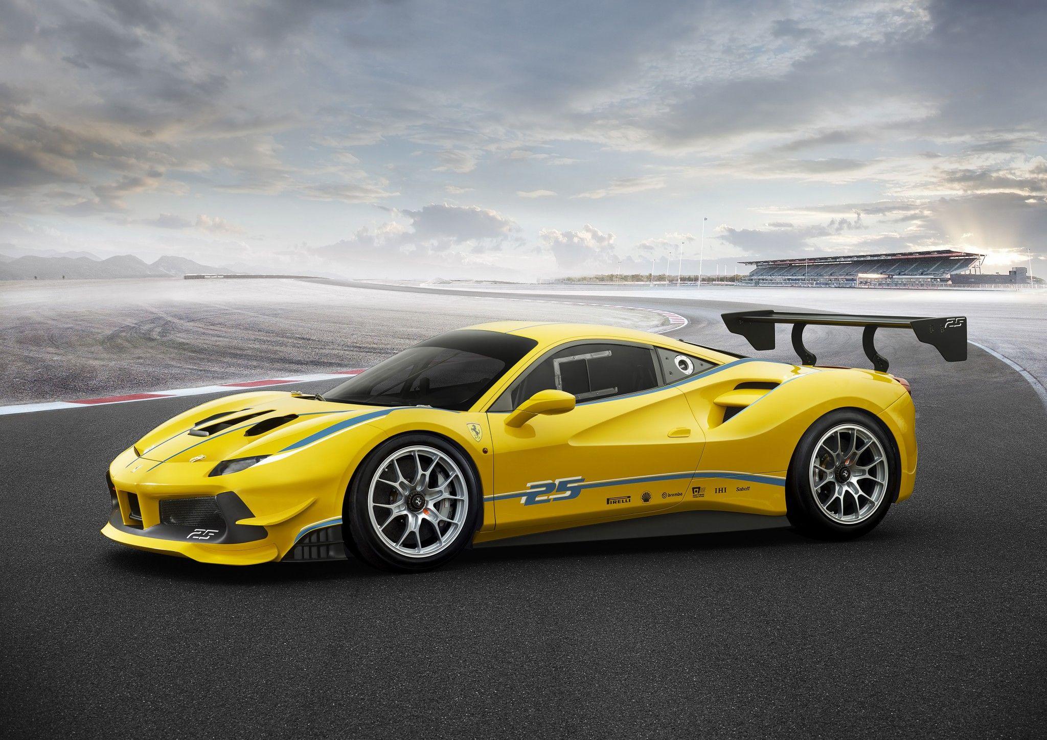 Ferrari Announces Unveils A New Challenge Racecar The 488 Challenge Ferrari 488 Ferrari Car New Ferrari