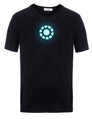Pin von Virtualclone auf Leuchtende Kleidung LED   Iron Man, T shirt und  Tony stark 2894499490