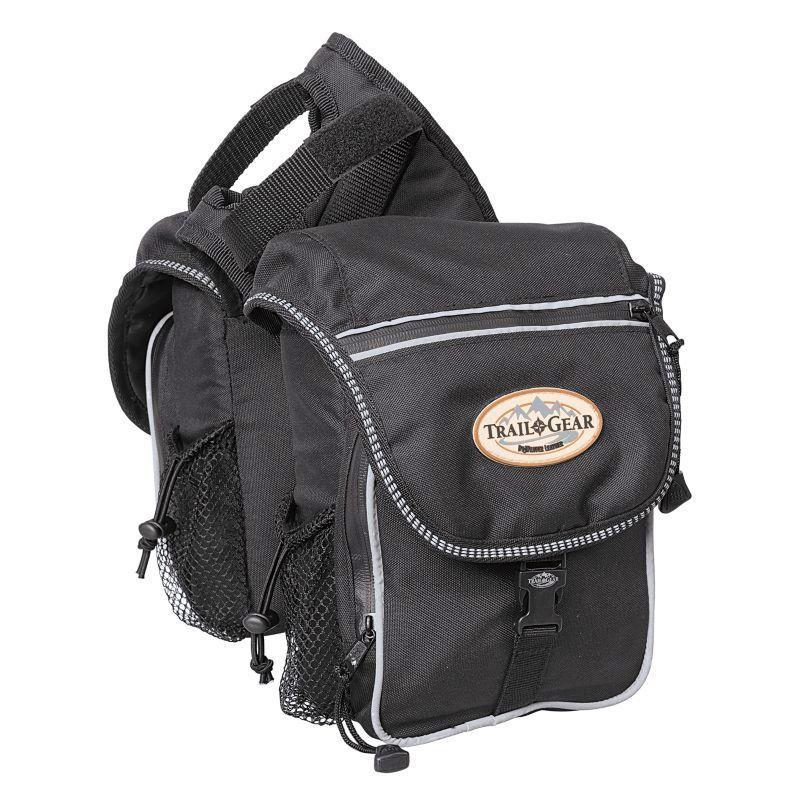 Weaver Trail Gear Pommel Bag Black Bags Saddle Bags Leather