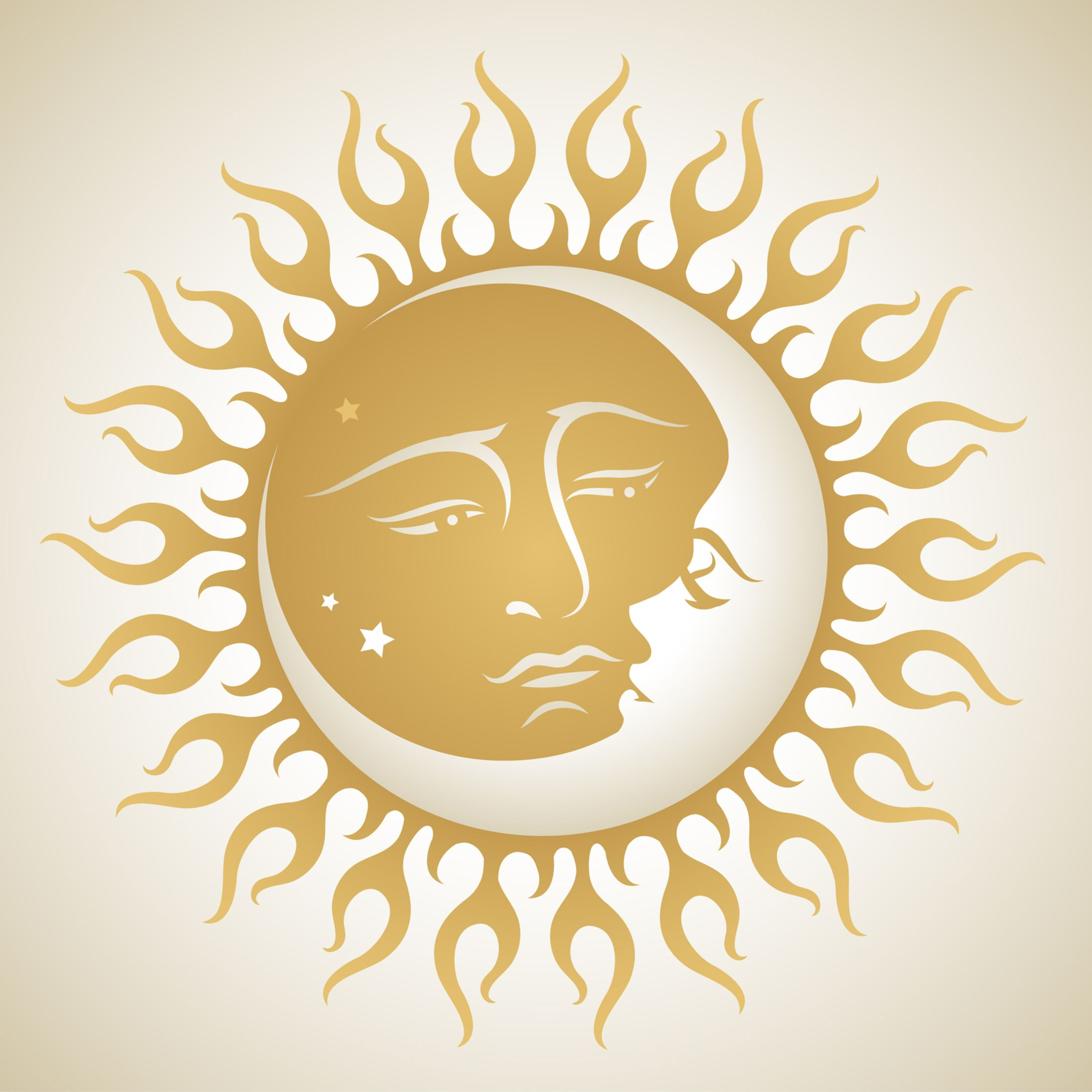 sun and moon tatoos | 12 Tribal Sun Tattoos – Meanings and Symbols ...