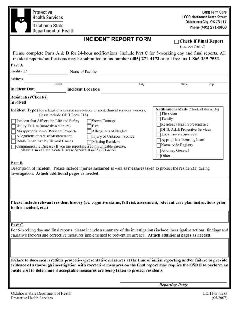 Physical Security Incident Report Template And Free Intended For Physical Security Risk Assessment Report Incident Report Form Incident Report Report Template